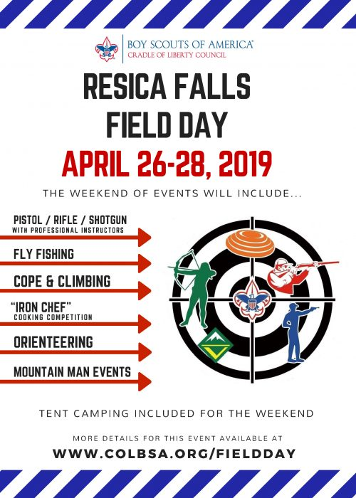 2019 RESICA FALLS FIELD DAY Print Version